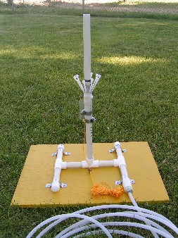Alpha Base water rocket launcher